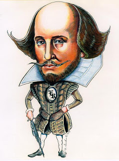Image result for non traditional portraits of Shakespeare