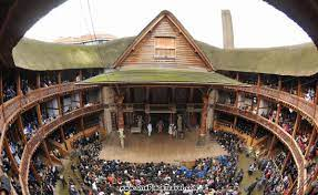 A Shakespearian Theatre and the new Globe
